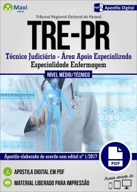 Técnico Judiciário - Especialidade Enfermagem - TRE-PR