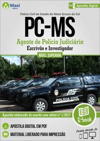Agente, Escrivão e Investigador de Polícia Judiciária - Polícia Civil - MS