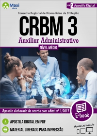 Auxiliar Administrativo - CRBM 3ª Região
