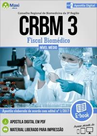 Fiscal Biomédico - CRBM 3ª Região
