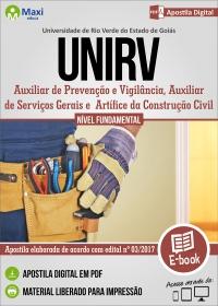 Cargos de nível fundamental - UniRV