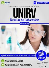 Auxiliar de Laboratório - UniRV