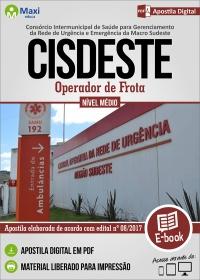 Operador de Frota - CISDESTE