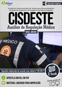 Auxiliar de Regulação Médica - CISDESTE