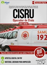 Operador de Frota - CISRU