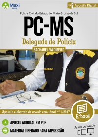 Delegado de Polícia - Polícia Civil - MS