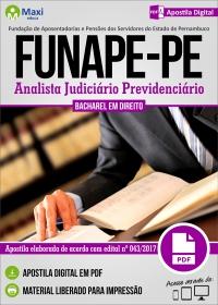 Analista Judiciário Previdenciário - Funape-PE