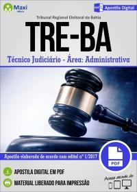 Técnico Judiciário - Área Administrativa - TRE-BA