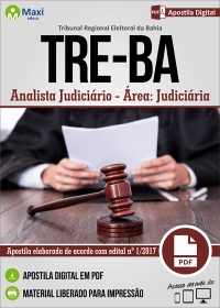 Analista Judiciário - Área Judiciária - TRE-BA