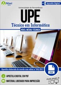 Técnico em Informática - UPE