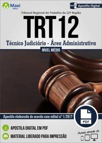 Técnico Judiciário - Área Administrativa - TRT 12ª Região - SC