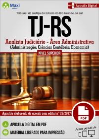 Analista Judiciário - Área Administrativa - Tribunal de Justiça - RS