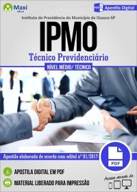 Técnico Previdenciário - IPMO - Osasco - SP