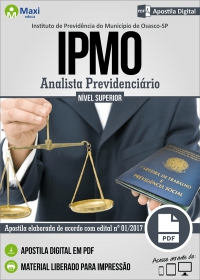 Analista Previdenciário - IPMO - Osasco - SP