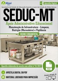 Apoio Administrativo Educacional - SEDUC - MT