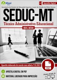 Técnico Administrativo Educacional - SEDUC - MT
