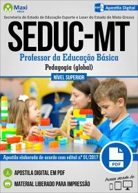 Professor da Educação Básica - Pedagogia - SEDUC - MT