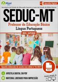 Professor da Educação Básica - Língua Portuguesa - SEDUC - MT