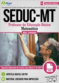 Professor da Educação Básica - Matemática - SEDUC - MT
