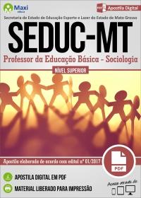 Professor da Educação Básica - Sociologia - SEDUC - MT