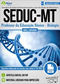Professor da Educação Básica - Biologia - SEDUC - MT