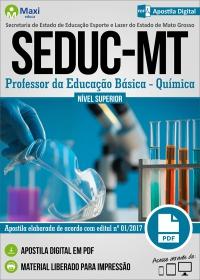 Professor da Educação Básica - Química - SEDUC - MT