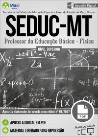 Professor da Educação Básica - Física - SEDUC - MT
