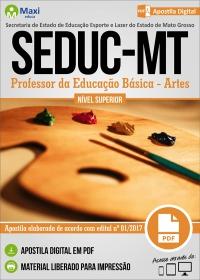 Professor da Educação Básica - Artes - SEDUC - MT