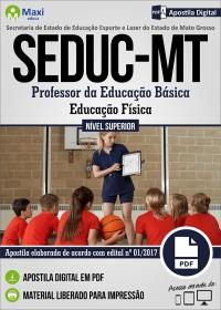 Professor da Educação Básica - Educação Física - SEDUC - MT