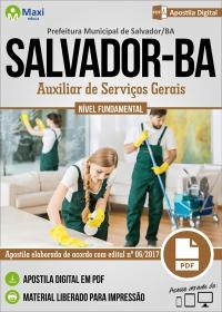 Auxiliar de Serviços Gerais - Prefeitura de Salvador - BA