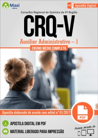 Auxiliar Administrativo - 1 - CRQ 5ª Região - RS