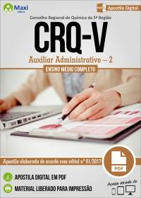 Auxiliar Administrativo - 2 - CRQ 5ª Região - RS