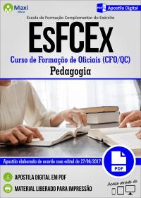 Curso de Formação de Oficiais CFO/QC - Pedagogia - EsFCEx - Exército Brasileiro