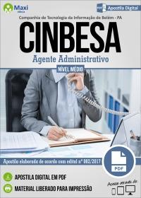 Agente Administrativo - CINBESA - Belém - PA