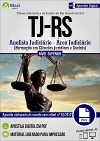 Analista Judiciário - Área Judiciária - Tribunal de Justiça - RS
