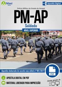 Soldado - Polícia Militar - AP