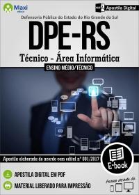 Técnico - Área Informática - DPE - RS