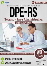 Técnico - Área Administrativa - DPE - RS
