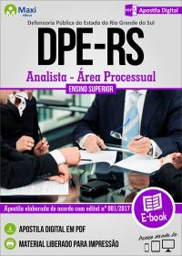 Analista - Área Processual - DPE - RS