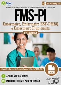 Enfermeiro - FMS-PI - Prefeitura de Teresina - PI