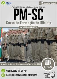 Curso de Formação de Oficiais - Polícia Militar - SC