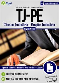 Técnico Judiciário - Função Judiciária - Tribunal de Justiça - PE