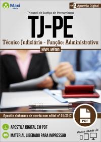 Técnico Judiciário - Função Administrativa - Tribunal de Justiça - PE