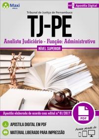 Analista Judiciário - Função Administrativa - Tribunal de Justiça - PE