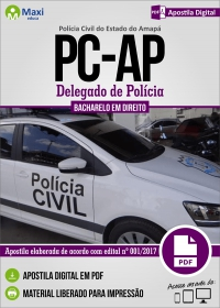 Delegado de Polícia - Polícia Civil - AP
