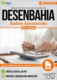 Analista Administrador - DESENBAHIA