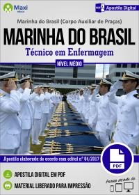 Técnico em Enfermagem - Corpo Auxiliar de Praças - Marinha do Brasil