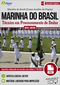 Técnico em Processamento de Dados - Corpo Auxiliar de Praças - Marinha do Brasil