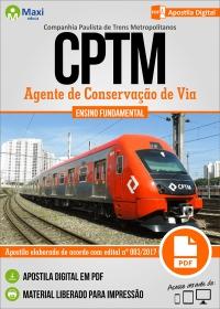 Agente de Conservação de Via - CPTM