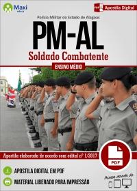 Soldado Combatente - Polícia Militar - AL